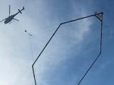 Helikopter med mätram